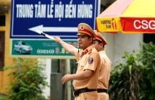 Phú Thọ: Phân luồng giao thông phục vụ Lễ hội Đền Hùng 2019