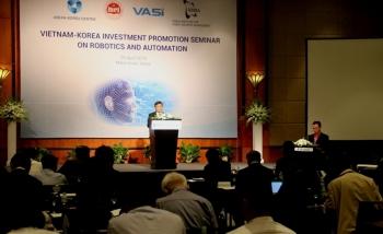 Việt Nam - Hàn Quốc đẩy mạnh hợp tác trong ngành công nghiệp robot và tự động hóa