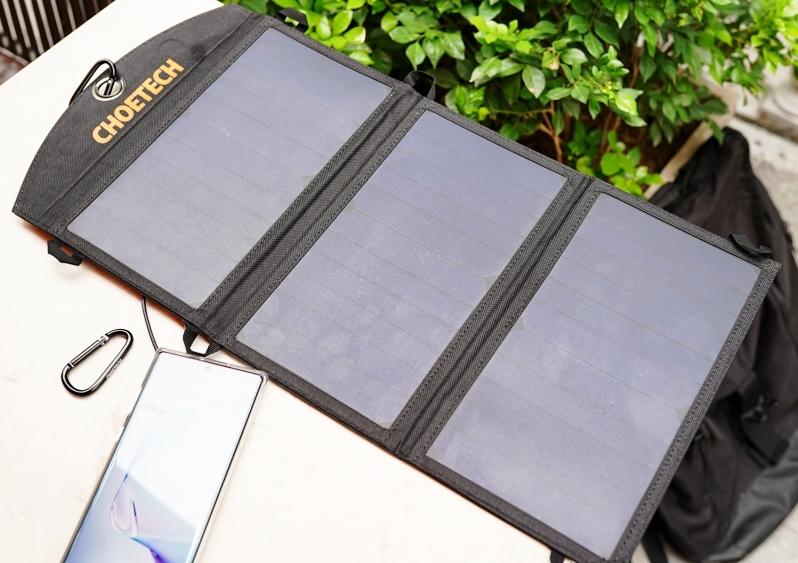 Sạc điện thoại bằng pin năng lượng mặt trời