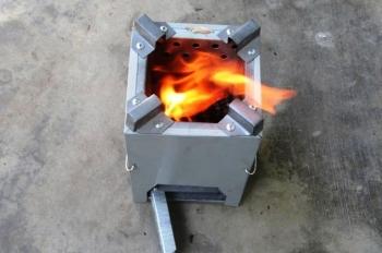 Tiết kiệm với bếp đun viên nén năng lượng