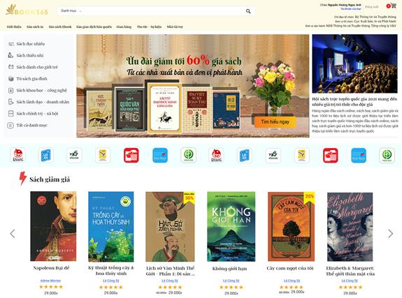Hội sách trực tuyến quốc gia 2021: Sách cho mọi nhà