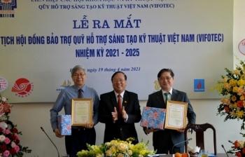 Ra mắt Chủ tịch Hội đồng Bảo trợ Quỹ Hỗ trợ Sáng tạo Kỹ thuật Việt Nam
