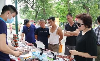 Hơn 100 gian hàng tham gia Tuần hàng Việt tại công viên Thống Nhất