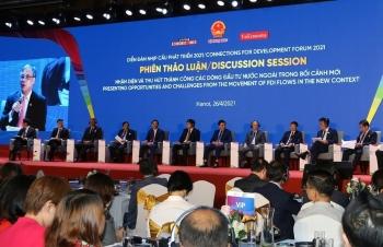 """Diễn đàn Nhịp cầu phát triển 2021: """"Kết nối Địa phương – Doanh nghiệp, nắm bắt cơ hội"""""""
