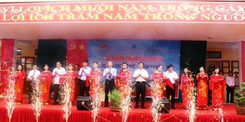 Vietsovpetro: Khánh thành và bàn giao công trình trường học tại Thái Bình