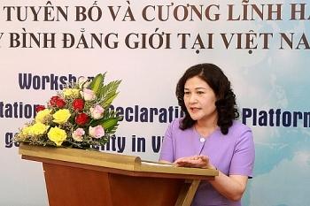Nỗ lực nâng cao vai trò và địa vị của phụ nữ Việt Nam
