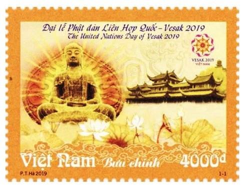 phat hanh bo tem dac biet chao mung dai le phat dan lien hop quoc vesak 2019