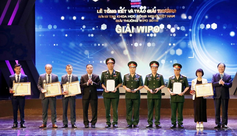 45 cong trinh duoc trao giai vifotec 2018