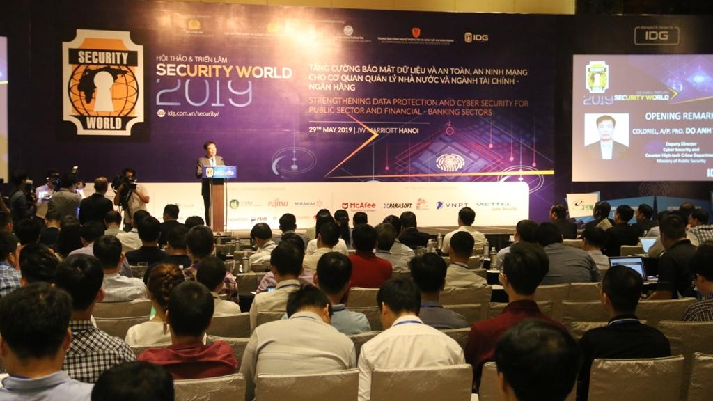 security world 2019 tang cuong bao mat du lieu cho nganh tai chinh ngan hang va co quan quan ly nha nuoc