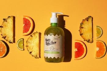 Biến vỏ trái cây thành nước tẩy rửa