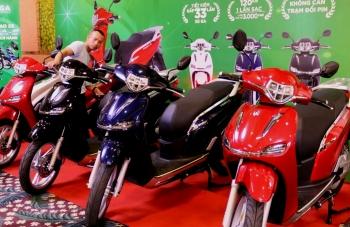 Sản phẩm xe máy điện của Việt Nam có công suất 4.000W