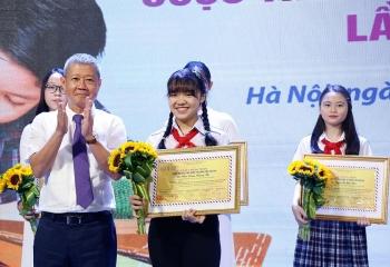 Học sinh Hà Nội đoạt giải Nhất cuộc thi Viết thư quốc tế UPU lần thứ 50