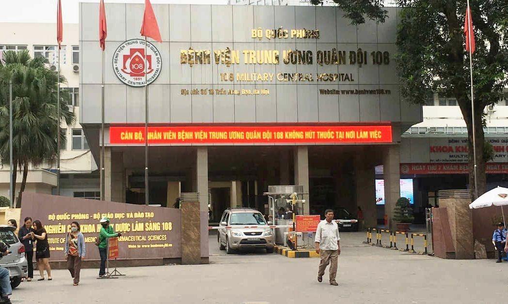 Bệnh viện 108 tạm dừng tiếp nhận bệnh nhân chuyển tuyến
