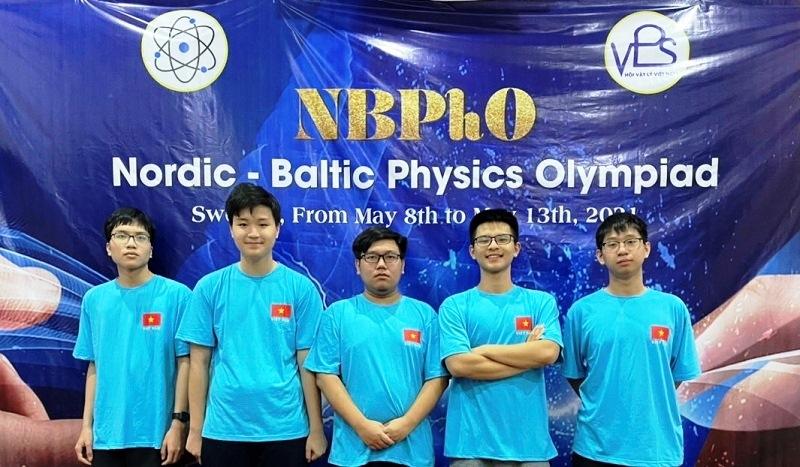 Học sinh Hà Nội đoạt huy chương Olympic Vật lý Bắc Âu - Baltic