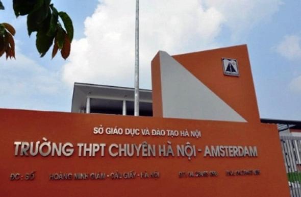 Công bố phương thức tuyển sinh lớp 6 trường THPT chuyên Hà Nội - Amsterdam
