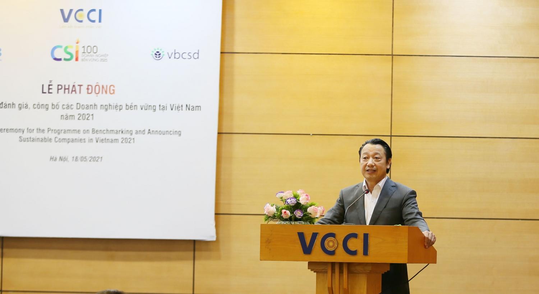 Phát động Chương trình đánh giá, công bố doanh nghiệp bền vững Việt Nam 2021