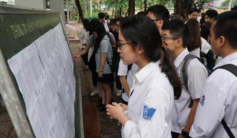 Hà Nội: Ngày 24/5 sẽ công bố số lượng học sinh dự tuyển lớp 10 của từng trường