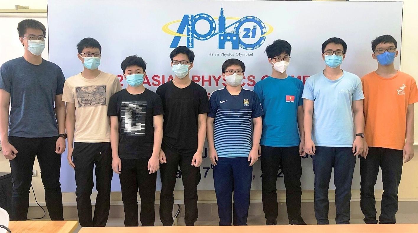 Học sinh Việt Nam sinh đạt điểm cao nhất Olympic Vật lí châu Á - Thái Bình Dương