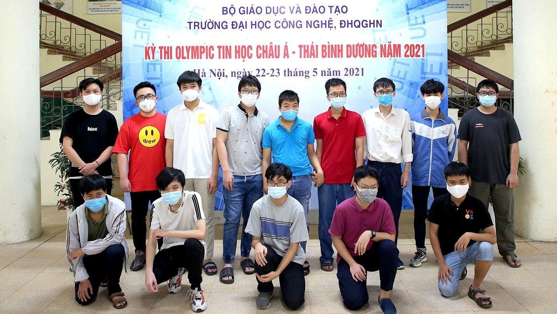 Việt Nam giành 6 Huy chương Olympic Tin học châu Á - Thái Bình Dương 2021