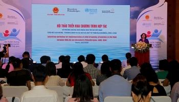 2,4 triệu USD hỗ trợ phòng chống đuối nước trẻ em Việt Nam