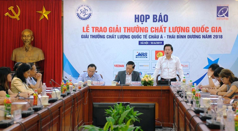 2 doanh nghiep cua pvn dat giai thuong chat luong quoc gia nam 2018