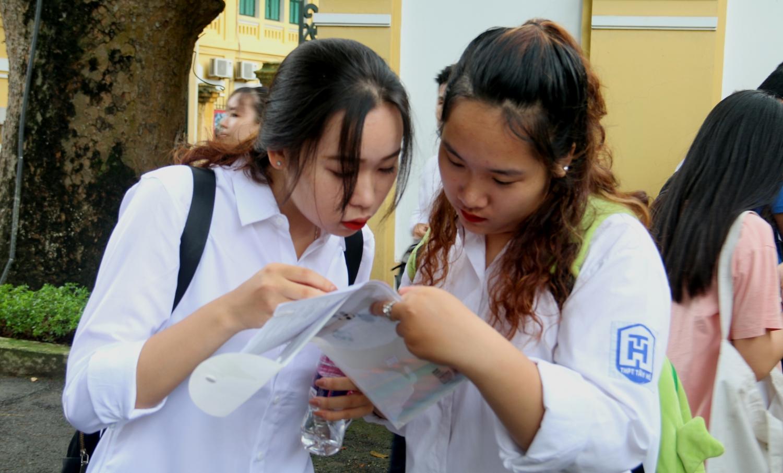 Công bố đáp án chính thức môn thi tổ hợp Khoa học tự nhiên THPT Quốc gia 2019