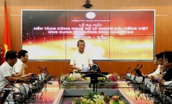 Ra mắt nền tảng công nghệ xử lý giọng nói tiếng Việt ứng dụng trí tuệ nhân tạo