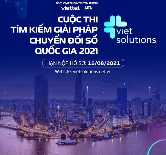 """Phát động cuộc thi """"Viet Solutions 2021: Cộng hưởng để kiến tạo xã hội số"""""""