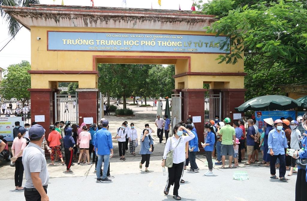 Thi vào lớp 10 ở Hà Nội: 4 thí sinh vi phạm quy chế