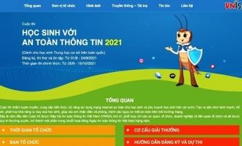"""Việt Nam lần đầu tổ chức cuộc thi """"Học sinh với An toàn thông tin"""""""