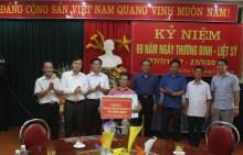 Thăm, tặng quà Trung tâm điều dưỡng người có công tỉnh Phú Thọ