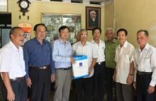 Hội CCB Tập đoàn thăm hỏi, tặng quà các gia đình chính sách