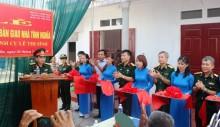 Trao nhà 'Nghĩa tình đồng đội' tại Thái Bình