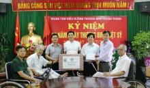 Thăm hỏi và tặng quà Trung tâm Điều dưỡng Thương binh Thuận Thành