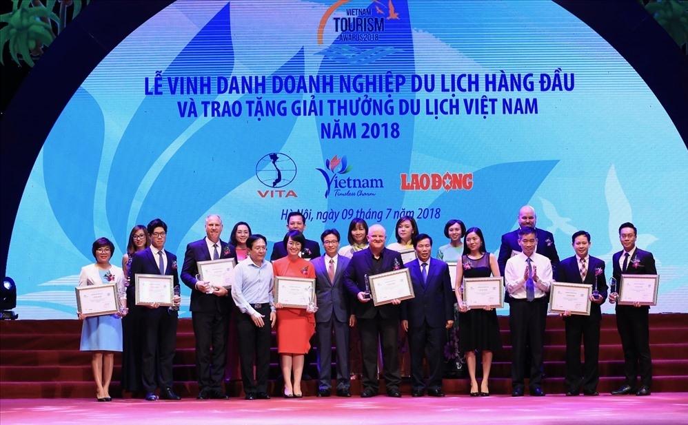 Lễ vinh danh và trao Giải thưởng Du lịch Việt Nam năm 2018