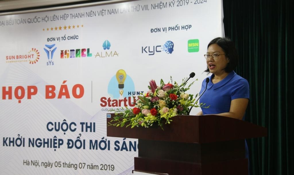phat dong cuoc thi y tuong khoi nghiep sang tao startup hunt 2019
