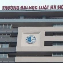 dai hoc luat ha noi cong bo diem san xet tuyen nam 2019