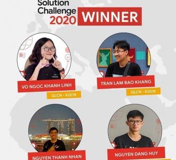 Sinh viên Việt Nam giành chiến thắng giải công nghệ của Google