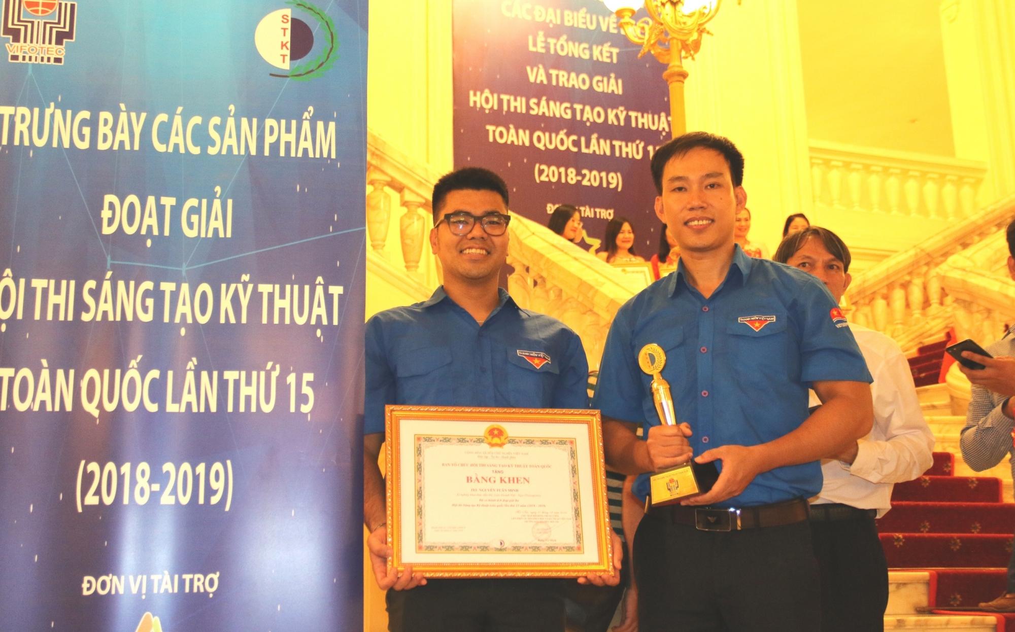 Giải pháp của tuổi trẻ Vietsovpetro đạt giải Ba Hội thi Sáng tạo Kỹ thuật toàn quốc lần thứ 15