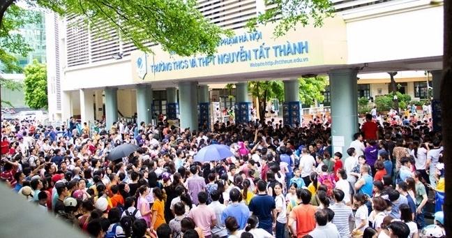 Công bố điểm chuẩn vào lớp 6 trường THCS-THPT Nguyễn Tất Thành