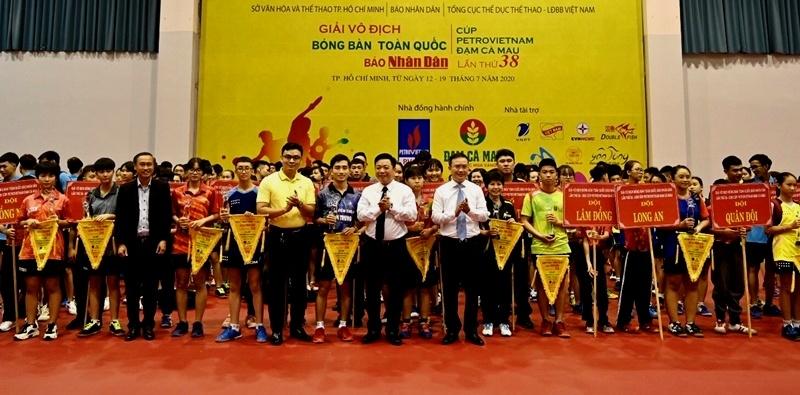 khai mac giai bong ban tranh cup petrovietnam dam ca mau 2020