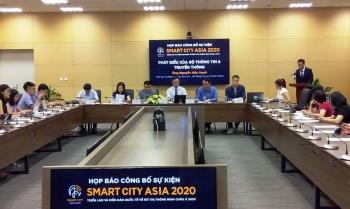 Hơn 200 gian hàng tham gia triển lãm quốc tế về đô thị thông minh châu Á 2020