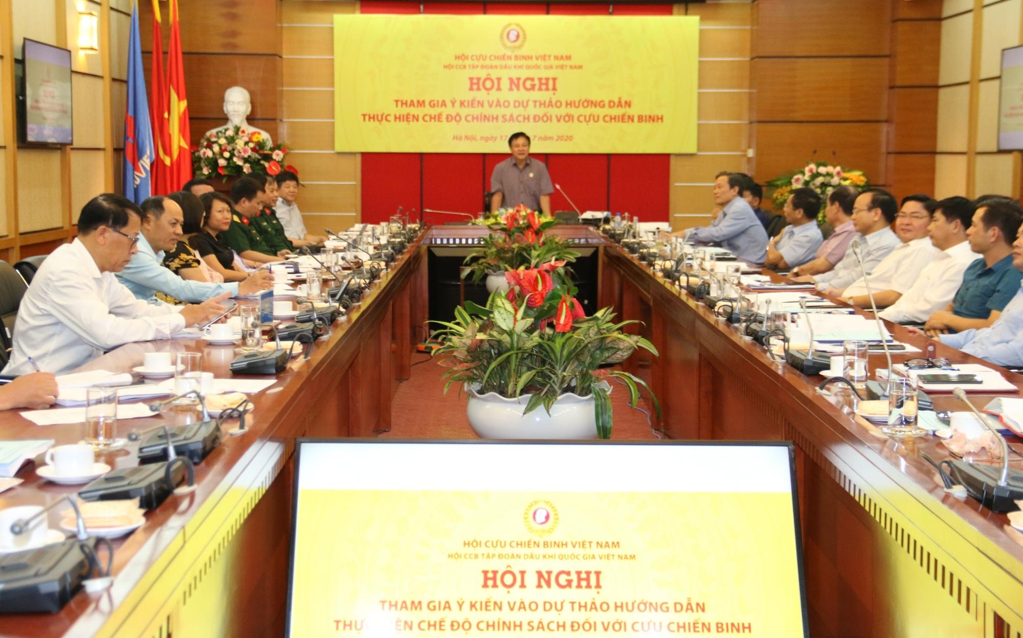 Hội CCB Tập đoàn tích cực đóng góp ý kiến vào dự thảo hướng dẫn thực hiện chế độ, chính sách đối với Cựu chiến binh