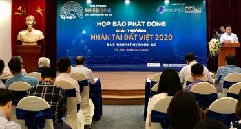 """Giải thưởng Nhân tài Đất Việt 2020: """"Sức mạnh chuyển đổi số"""""""