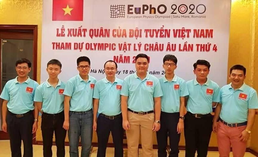 viet nam gianh huy chuong vang olympic vat ly chau au 2020