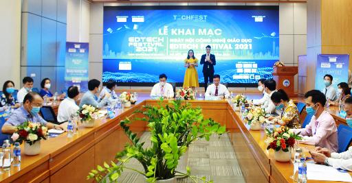 Ngày hội Công nghệ giáo dục Edtech Festival 2021: Khơi nguồn kinh tế tri thức