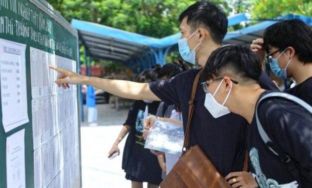 Chính thức công bố điểm thi tốt nghiệp THPT năm 2021