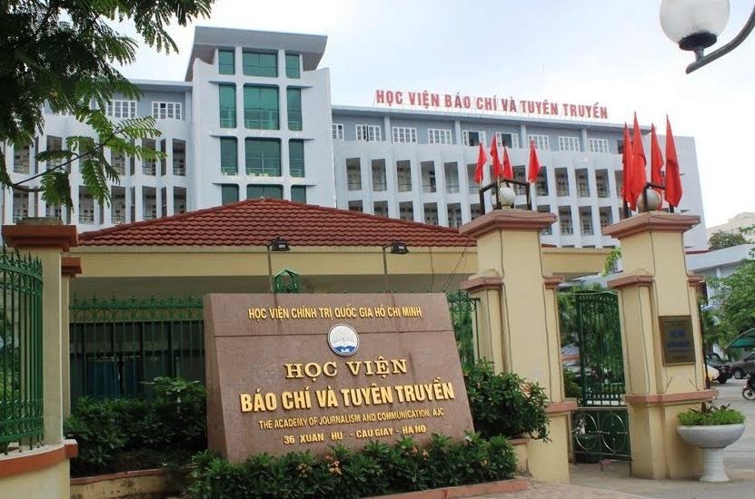 49 thí sinh được tuyển thẳng vào Học viện Báo chí và Tuyên truyền năm 2021
