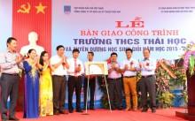 PTSC khánh thành và bàn giao công trình trường học tại Thái Bình