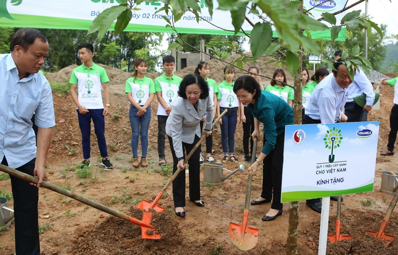 Quỹ 1 triệu cây xanh cho Việt Nam đến với tỉnh Bắc Kạn